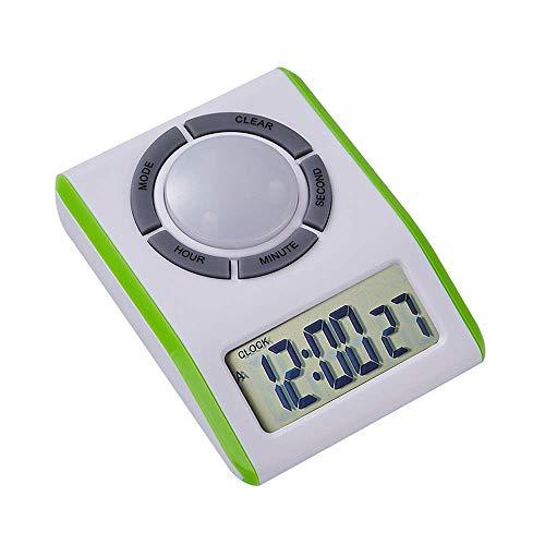 Hoodie Digitale wekker, Count-Up Countdown, groot display, alarm, volume verstelbaar en helder, met magnetische terugkeer, voor leraren, studenten, kinderen