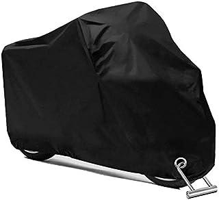 PUBAMALL Cubierta Impermeable para Motocicletas, protección contra el Polvo, escombros, Lluvia y Clima, Aptos para Motocic...