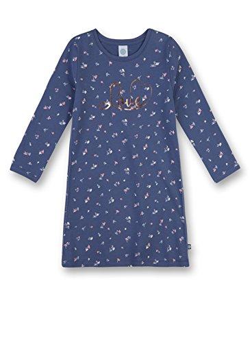Sanetta Mädchen 232014 Nachthemd, Blau (Fjord 50154), 104