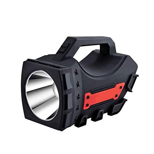 Taurusb - Faro portatile a LED, ricaricabile, fatto a mano, Light10 W, lanterna mobile, per campeggio, escursionismo