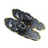 N \ A Patines de esquí para Nieve, skiboard snowblades, Raquetas de Nieve Ligeras, Zapatos de Nieve para Terreno rodante de Aluminio de 26 Pulgadas con Bolsa de Transporte