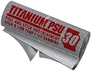 Titanium PSU30 Peel & Stick Roof Underlayment
