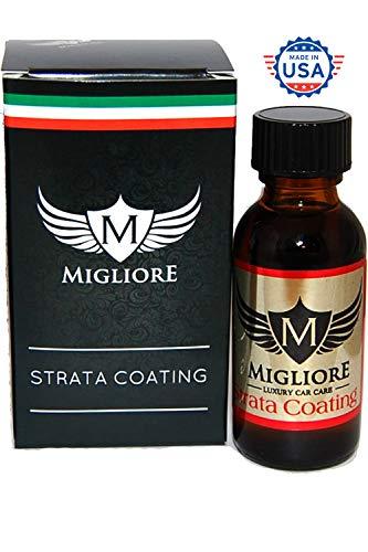 Migliore Strata Coating: High Gloss SiO2 PRO Ceramic Coating & Car Sealant