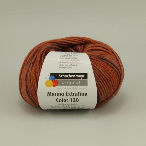 Schachenmayr Merino Extrafine Color 120, Farbe 00481, 50g