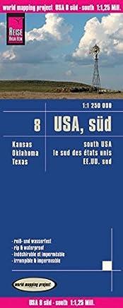 USA 08 South rkh r/v (r) wp GPS: Kansas - Oklahoma - Texas