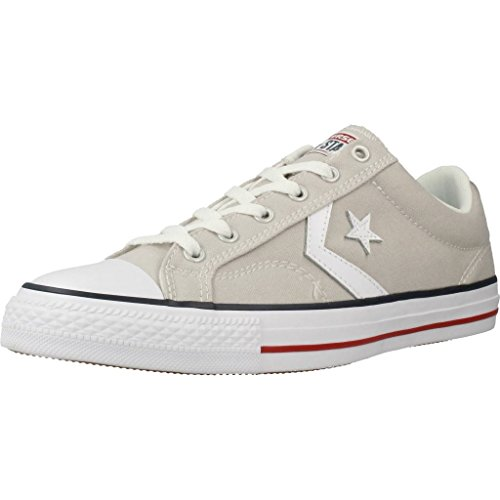 Converse Lifestyle Star Player Ox, Zapatillas de Baloncesto Hombre, Gris (Cloud Grey/White 050), 42.5 EU