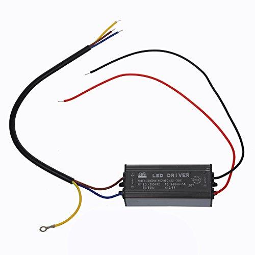 Preisvergleich Produktbild SODIAL(R) 30W LED Treiber Konstantstrom Driver Netzteil Trafo Transformator Wasserdicht