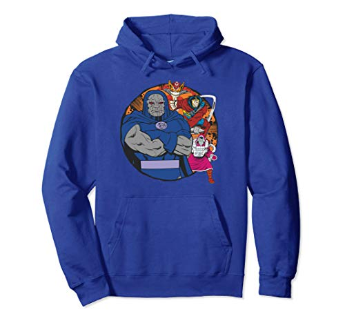 Justice League Apokolips Represent Pullover Hoodie