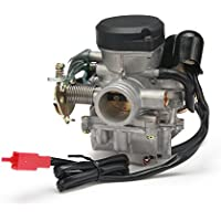 JFG RACING Carburador de carburador 26 mm CVK26 para ATV Scooter GY6 150 cc 200 cc 250 cc