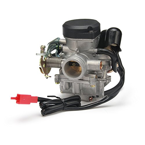 JFG RACING Carburador de carburador CVK26 de 26 mm para ATV Scooter GY6 150 cc 200 cc 250 cc motocicleta Scooter