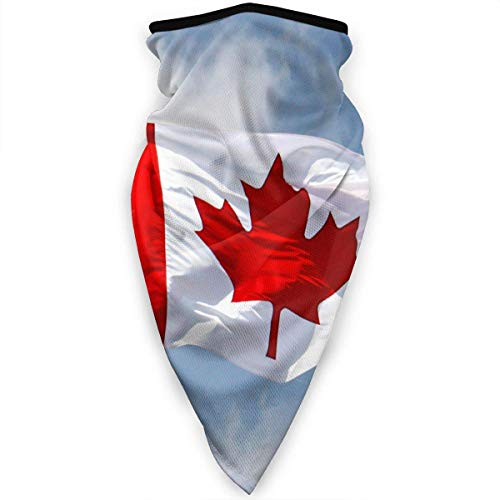 Canadian Flag Gaiter Warmer Windproof Face MaskOutdoor Sports Mask