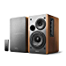 Edifier R1280T Powered Bookshelf Speakers - 2.0 Stereo Active Near Field Monitors - Studio Monitor Speaker - Wooden Enclosure - 42 Watts RMS (Renewed)