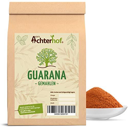 Preisvergleich Produktbild 1000 g Guarana Pulver 100 % naturrein natürlich vom-Achterhof