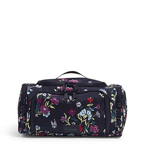 Vera Bradley Women's Recycled Lighten Up Reactive Large Travel Cosmetic...