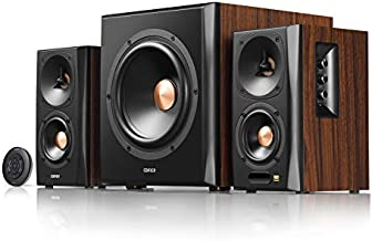 Edifier S360DB Bookshelf Speaker with Wireless Subwoofer, 2.1 Speaker System, Bluetooth v4.1 AptX Wireless Sound, for Computer Rooms, Living Rooms, and Dens