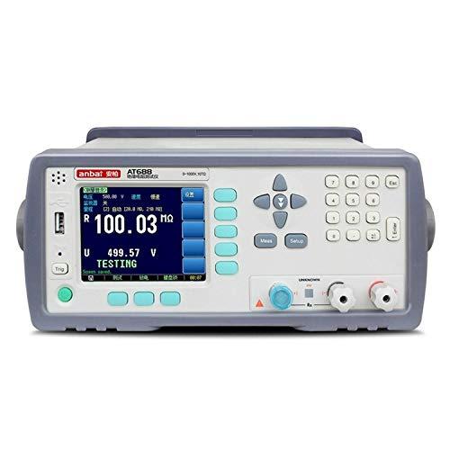 BEVANNJJ ZYY Instrumento preciso AT688 Resistencia de Aislamiento Meter 20000 Mostrar dígitos