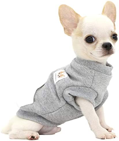LOPHIPETS Dog Warm Cotton Sweatshirts for Small Dogs Chihuahua Puppy Clothes Cold Weather Coat product image