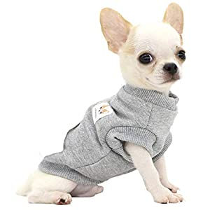 LOPHIPETS Dog Warm Cotton Sweatshirts for Puppy Small Dogs Chihuahua
