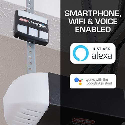 Genie Aladdin Connect – Smart Garage Door Opener – Compatible with Amazon Alexa and Google...