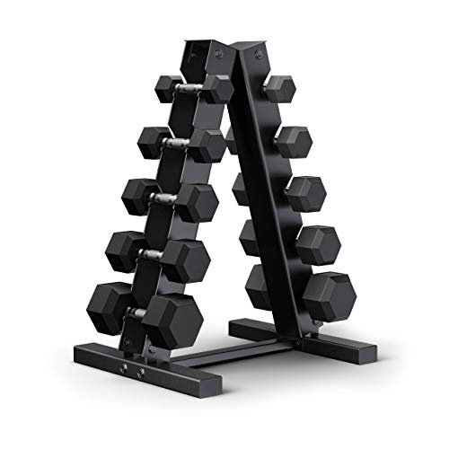 Epic Fitness 150-Pound Hex Dumbbell Set with Rack Now $379.99 (Was $499.99)