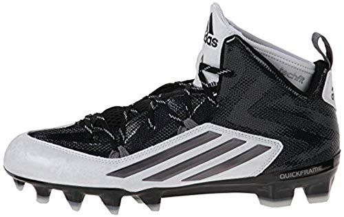 adidas Men's Crazyquick 2.0 Mid Black/Black/Black Sneaker 8 D (M)