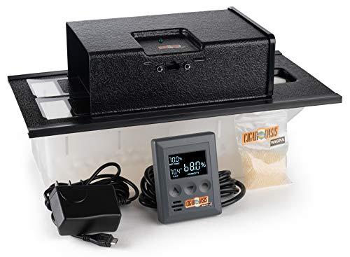 Cigar Oasis Magna 3.0 Electronic Humidifier Black