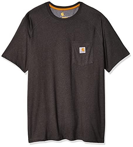 Carhartt Men's Force Cotton Delmont Short Sleeve T-Shirt...