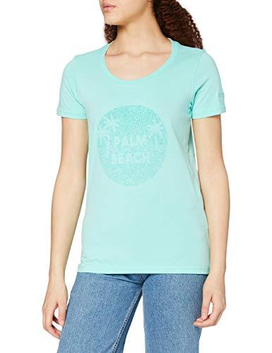 Regatta Camiseta Filandra IV de algodón Coolweave orgánico y con Estampado gráfico