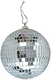 Rhode Island Novelty 4 Inch Mirror Ball Toy Activity and Play