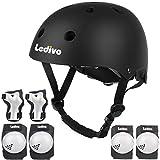 LEDIVO Kids Adjustable Bike Helmet Toddler Helmet for Kids 3-8 Years Girls Boys, Sport Protective...