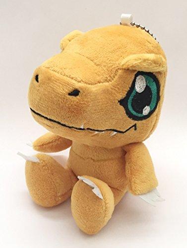 Digimon Adventure Agumon Small Plush 4'' - Agumon Plush Doll
