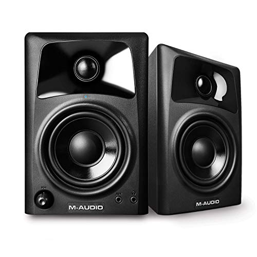 M-Audio AV32 | Compact Active Desktop Reference Speakers (Pair) for...