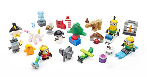 Mega Bloks CPC57Junge/Mädchen Figur Spielzeug-Kit für Kinder–Spielzeug Figuren Kits für Kinder (5Jahr (E), Kinder/Mädchen, bunt, Cartoon, Minions (Animated Film), 221Stück (S))