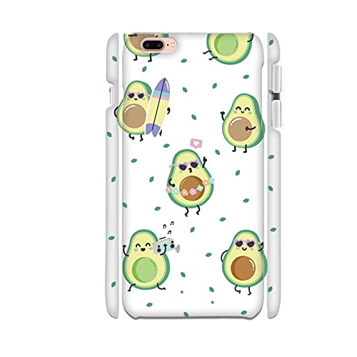 Generic Compatibile con Apple iPhone 7 8 4.7 inch Design Avocado 2 Casse del Telefono ABS Kawaii Ragazzi
