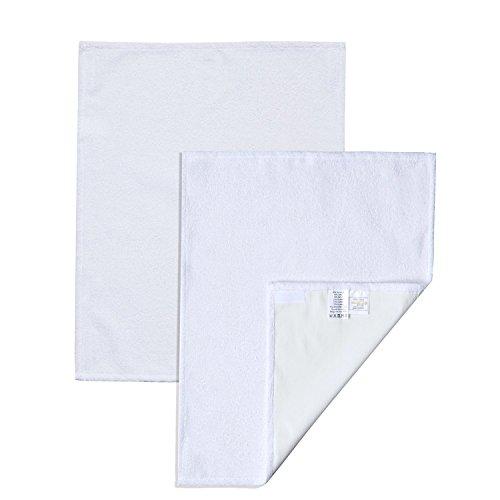 Toallas de recambio para cambiador, tamaño pequeño, funda de rizo con cierre de velcro, juego de 2 toallas de recambio para cambiador nórdico coast, 50 x 70 cm