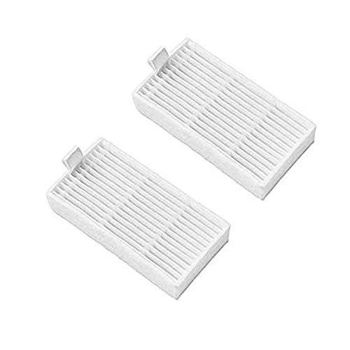 Hannets 2 Hochwertige Filter kompatibel mit Medion MD16192 I MD18500 I MD18501 I MD18600 I Roboterstaubsauger Staubsaugroboter passend für Medion und Ariete