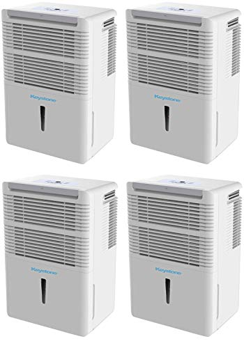 Best Price! Keystone KSTAD50B Energy Star 50-Pint Portable Dehumidifier for 3000 Sq. Ft. with 6.4-Pi...