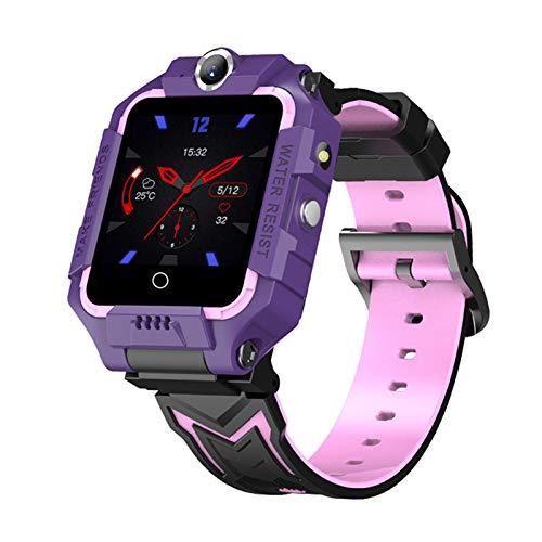 SIWEI 4G Kinder Smart Watch GPS Positionierung Tracker Kinder Smart Watch WiFi HD Videoanruf Dual-Kameras Smart Watches SOS Geburtstagsgeschenke für Jungen Mädchen