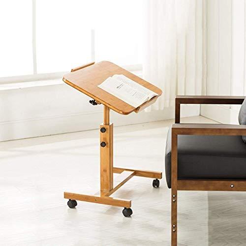 ACZZ Soporte de mesa portátil portátil 100% de bambú plegable para ...