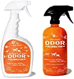 ANGRY ORANGE 24 oz Ready-to-Use Citrus Pet Odor Eliminator Pet Spray & Enzyme Stain Cleaner & Pet Odor Eliminator- Urine Remover and Carpet Deodorizer for Dogs and Cats