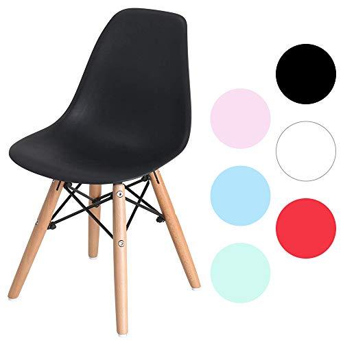椅子 イームズチェア キッズ デザイナーズ リプロダクト ブラック PP-902-1