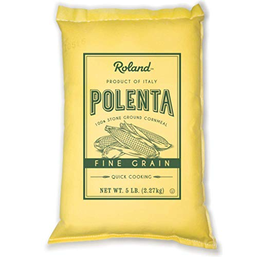 Roland Foods Fine Grain Yellow Polenta from Italy, 5 Lb Bag