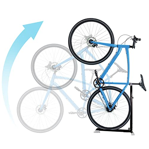 Bike Nook Bicycle Stand, Portable and Stationary Space-Saving Rack...