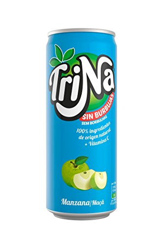 Trina - Manzana - Lata Sleek - 33 cl - [Pack de 24]