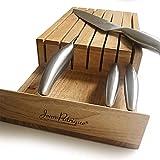 Jean Patrique JP0235_FBA - Ceppo per coltelli vuoto, in legno