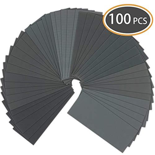Grit 320 mouillé et sec papier de verre P320 extra fin sable papier