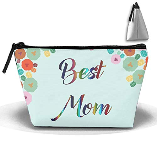 Makeup Bag/Toiletry Bag/Toilet Bag/Jewelry Storage Bag Portable Best-Mom-Ever