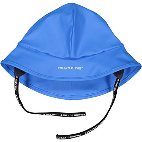 Polarn O. Pyret North Easter RAIN HAT (2-6YRS) - French Blue/2-6 Years
