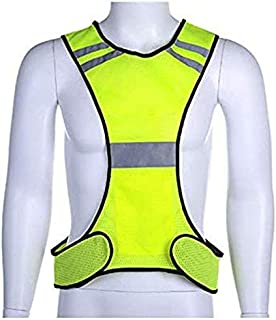 U-HOOME Reflective Vest for Running or Cycling Reflector Jackets with Pockets   High Visibility Safety Clothing for Bike, ...