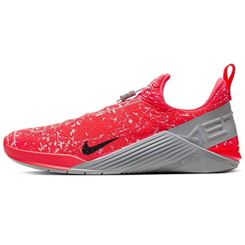 Nike React Metcon Bq6044-660 - Zapatillas de entrenamiento para hombre, rojo (Carmesí brillante/gris niebla partícula gris), 41.5 EU